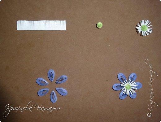 """Здравствуйте, дорогие мои друзья! Как и обещала, подготовила для вас в подарок МК по созданию нежного весеннего цветочка печёночницы, который был одной из частей триптиха """"Весенние цветы"""". http://stranamasterov.ru/node/1018985  Работа очень несложная, поэтому будет по силам даже начинающим мастерицам.  фото 4"""
