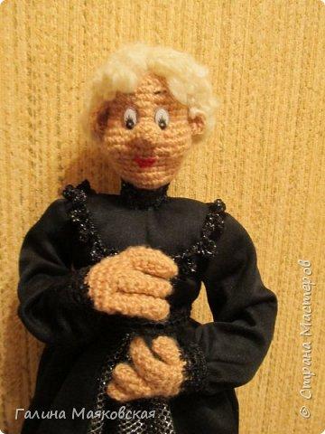 Доброго времени суток всем! Представляю свою новую  куклу - такую бабульку-ведьмочку с волшебной книгой.  фото 3