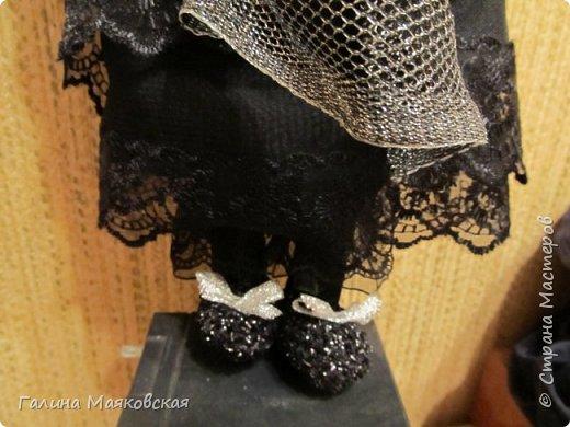 Доброго времени суток всем! Представляю свою новую  куклу - такую бабульку-ведьмочку с волшебной книгой.  фото 5
