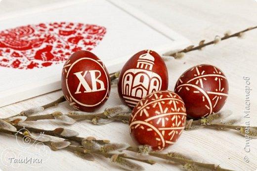 Окрашивание пасхальных яиц просто и красиво
