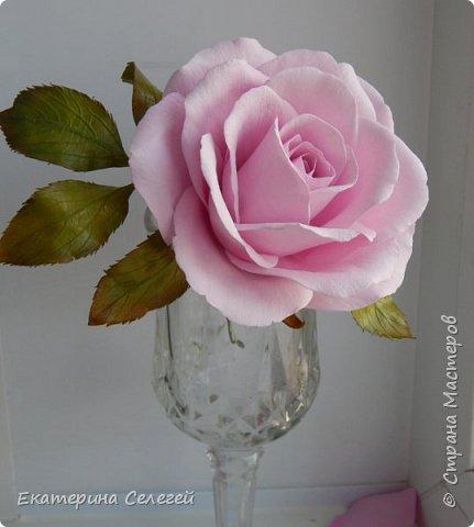 еще одна роза из фоамирана фото 1