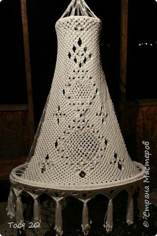Доброго времени суток, дорогие жители страны! Вот готово еще одно кресло, теперь в белом цвете. фото 2