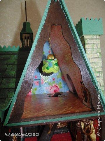 Сказочный замок для любимых кукол фото 11