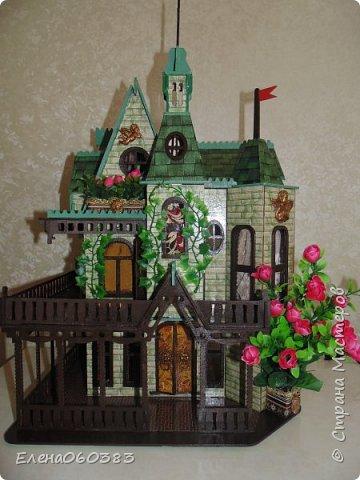 Сказочный замок для любимых кукол фото 2