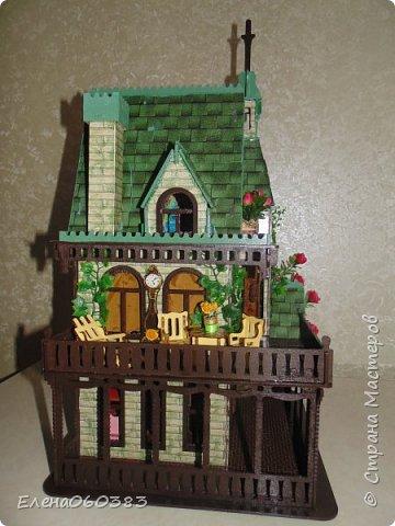 Сказочный замок для любимых кукол фото 3
