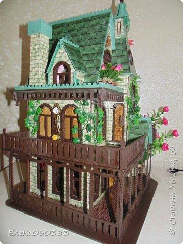 Сказочный замок для любимых кукол фото 4