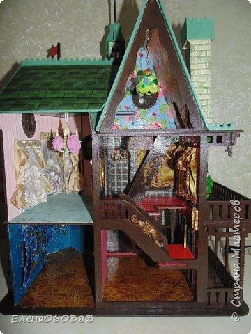 Сказочный замок для любимых кукол фото 5