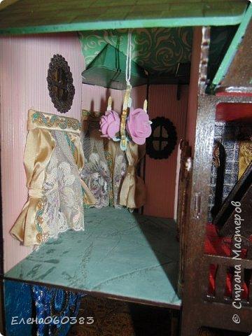 Сказочный замок для любимых кукол фото 9