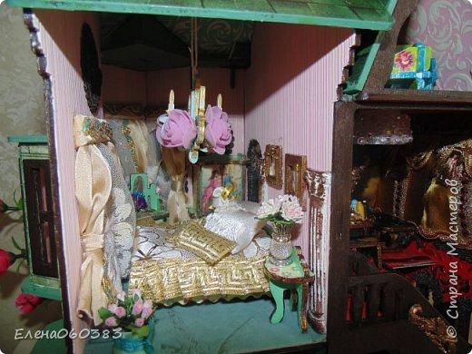 Сказочный замок для любимых кукол фото 15