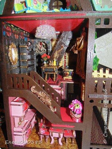 Сказочный замок для любимых кукол фото 22