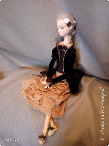 Знакомьтесь Софи) Моя первая будуарная кукла (первый опыт) по курсу Ирины Горюновой!! фото 2