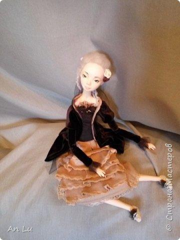 Знакомьтесь Софи) Моя первая будуарная кукла (первый опыт) по курсу Ирины Горюновой!! фото 3