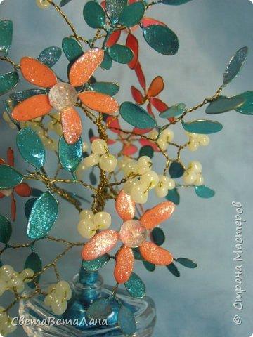 Доброе время суток Страна...... спросили у меня как делать цветочки - листочки из проволоки и лака для ногтей.... фото 21