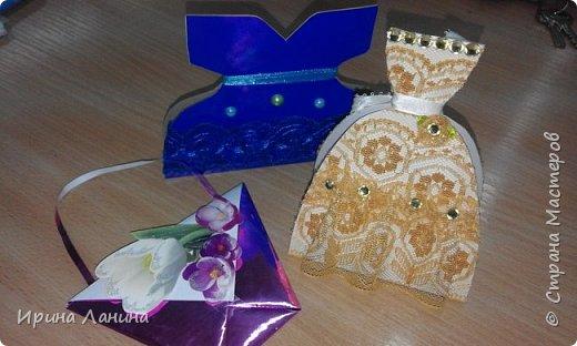 Сумочки-шоколадницы ( творческие  работы учеников 7 класса) фото 2