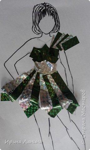 """Арт-сушка творческих работ семиклассников.Тема """"Дизайн одежды"""" фото 4"""