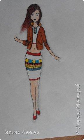 """Арт-сушка творческих работ семиклассников.Тема """"Дизайн одежды"""" фото 7"""