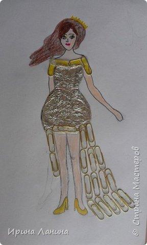 """Арт-сушка творческих работ семиклассников.Тема """"Дизайн одежды"""" фото 6"""