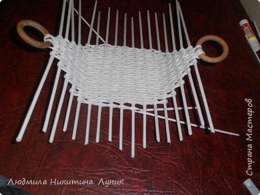 Привет Страна! Выполняю просьбу мастериц - выкладываю поэтапно плетение новой формы. Сразу оговорюсь, что размеры могут быть какими вам угодно. Это может быть даже большая напольная корзина.   фото 14