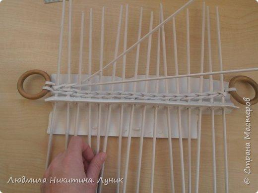 Привет Страна! Выполняю просьбу мастериц - выкладываю поэтапно плетение новой формы. Сразу оговорюсь, что размеры могут быть какими вам угодно. Это может быть даже большая напольная корзина.   фото 6