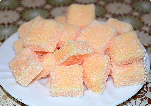 Научилась делать сахарный скраб для тела в виде мармелада.  И вот с таким подарком пошла на День рождения к своей тёте. фото 2