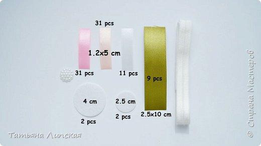 Всем привет! Если у вас много узкой ленты шириной 12 мм и вы не знаете, куда ее использовать, я вам помогу))  В этом видео-МК я показываю как сделать простой лепесток с одной складкой, как собрать цветок, бутоны и сделать из них композицию.   фото 2