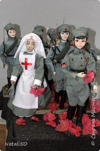 Доброго всем вечера!! Хочу поделиться своими впечатлениями о выставке кукол!!  Проходит она в городе Серпухове.Очень интересные работы,замечательные мастерицы живут в этом городе!  Смотрите,любуйтесь!! фото 8