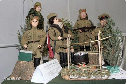Доброго всем вечера!! Хочу поделиться своими впечатлениями о выставке кукол!!  Проходит она в городе Серпухове.Очень интересные работы,замечательные мастерицы живут в этом городе!  Смотрите,любуйтесь!! фото 19