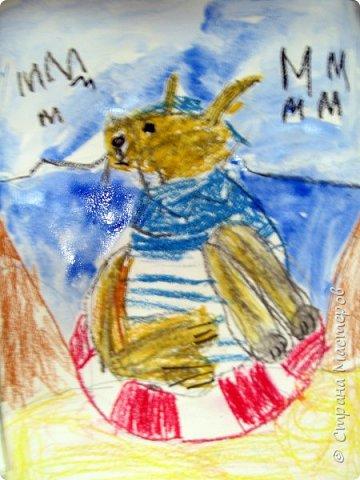 С учениками  (5-6 лет) рисовали кошек и собак разными материалами, вот результаты нашего творчества.  Первая работа моя, дальше детские, использовали для работы гуашь, шторы отпечатывали подложкой от продуктовой нарезки, произвольно рисовали на ней линии, наносили краску и делали отпечаток (можно использовать кусочки тюли или кружева). фото 20