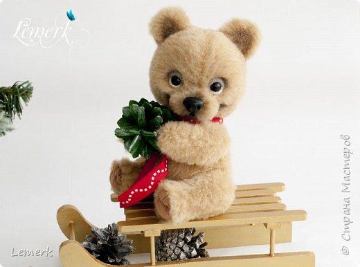 Медвежонок Медовые ушки и зайчонок Иней. Тедди фото 7