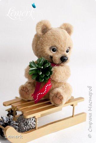 Медвежонок Медовые ушки и зайчонок Иней. Тедди фото 8