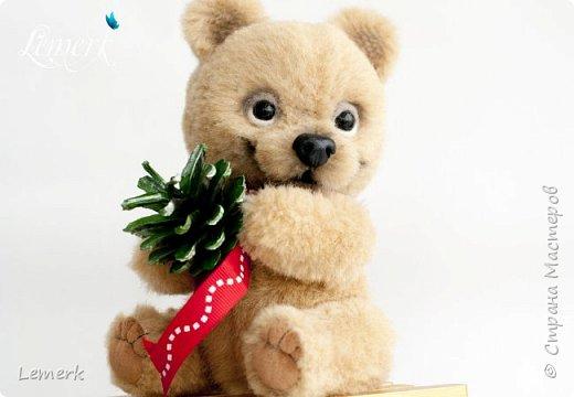 Медвежонок Медовые ушки и зайчонок Иней. Тедди фото 9