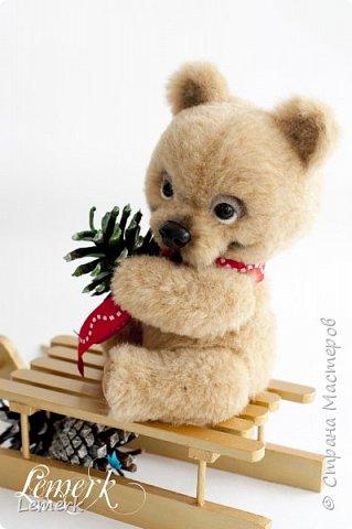 Медвежонок Медовые ушки и зайчонок Иней. Тедди фото 10