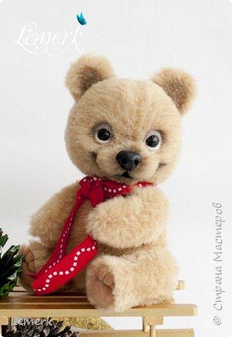 Медвежонок Медовые ушки и зайчонок Иней. Тедди фото 12