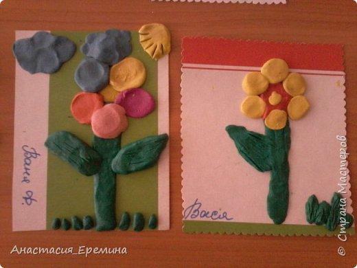 """Пластилинография """"Первоцветы"""" фото 2"""