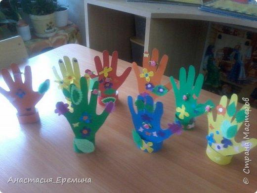 Цветочная рука фото 1