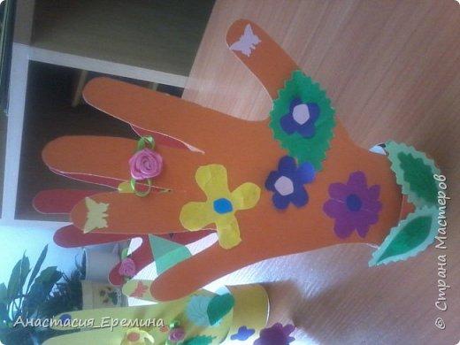 Цветочная рука фото 2