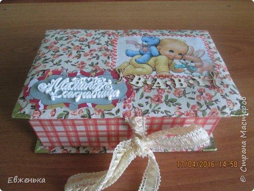 Ещё одна коробочка для подружки фото 1