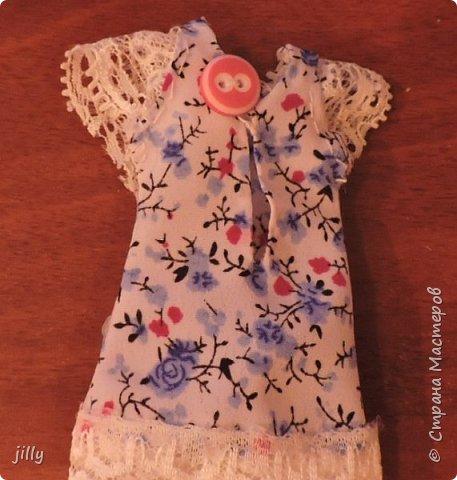 Наконец-то сшила одежку на одну из фотогеничных кукол J-Doll — Piazza Cavalli . Мастер-класс простой, любой сможет сделать это платьишко. фото 4