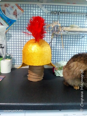 Эту шапку попросили сделать в подарок. фото 1