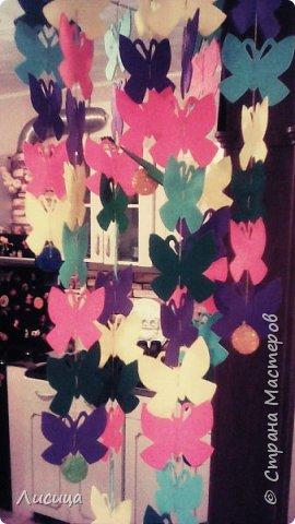 Мобиль для ребёнка  из чудесных бабочек. фото 2