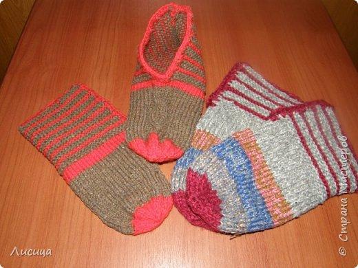 Вязание домашних тапочек - БЫСТРО, ЛЕГКО и ПРОСТО! фото 4