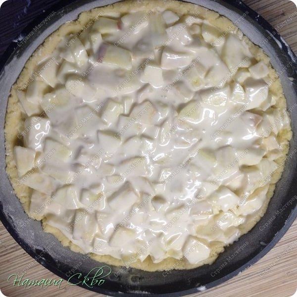 Всем доброго времени суток!  У нас сегодня снова немецкая выпечка!!!  Делюсь рецептом Танюши http://stranamasterov.ru/user/31164 и приглашаю вас приготовить яблочный пирог со штрейзелем- песочной крошкой. Танюша, в очередной раз ГРОМАДНОЕ спасибо за рецепт!!! ШИКАРНЫЙ ПИРОГ!!! Неимоверно богатого вкуса! Пеку его вместо тортов! Сегодня приготовила его в седьмой раз, и ни разу не было такого, чтобы он не получился! фото 13