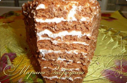 Всем привет! Сегодня готовлю шоколадно-медовый любимый тортик в моей семье. Пропитан сметанным кремом, торт получается прекрасный, вкусный, очень нежный и в меру сладкий. Приготовьте - не пожалеете) фото 28