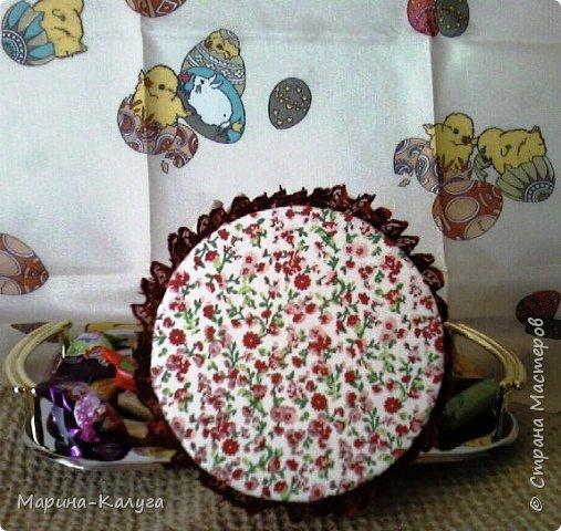 Курочка Ряба по МК Людмилы Набиуллиной.Снесла курочка яйцо не простое, а большое деревянное. фото 5