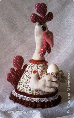 Курочка Ряба по МК Людмилы Набиуллиной.Снесла курочка яйцо не простое, а большое деревянное. фото 3
