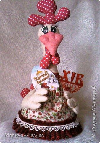 Курочка Ряба по МК Людмилы Набиуллиной.Снесла курочка яйцо не простое, а большое деревянное. фото 6
