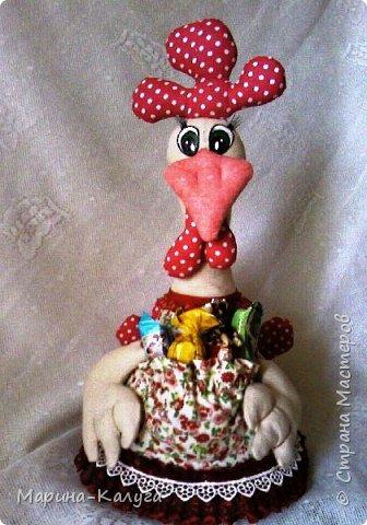 Курочка Ряба по МК Людмилы Набиуллиной.Снесла курочка яйцо не простое, а большое деревянное. фото 7