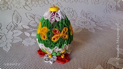 Здравствуйте, дорогие жители Страны Мастеров! Полным ходом идет подготовка к Светлому празднику Пасха. Вот эти пасхальные яйца приготовлены на выставку. фото 2