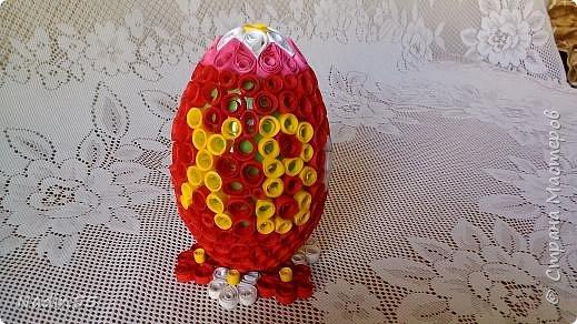 Здравствуйте, дорогие жители Страны Мастеров! Полным ходом идет подготовка к Светлому празднику Пасха. Вот эти пасхальные яйца приготовлены на выставку. фото 3
