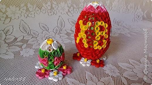 Здравствуйте, дорогие жители Страны Мастеров! Полным ходом идет подготовка к Светлому празднику Пасха. Вот эти пасхальные яйца приготовлены на выставку. фото 6